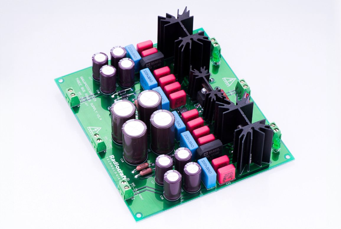 Trident Diy Three Bus Power Supply Kit