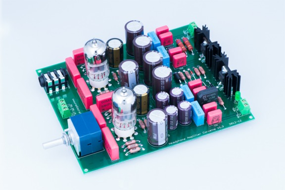 Headphone Amplifier Corvette