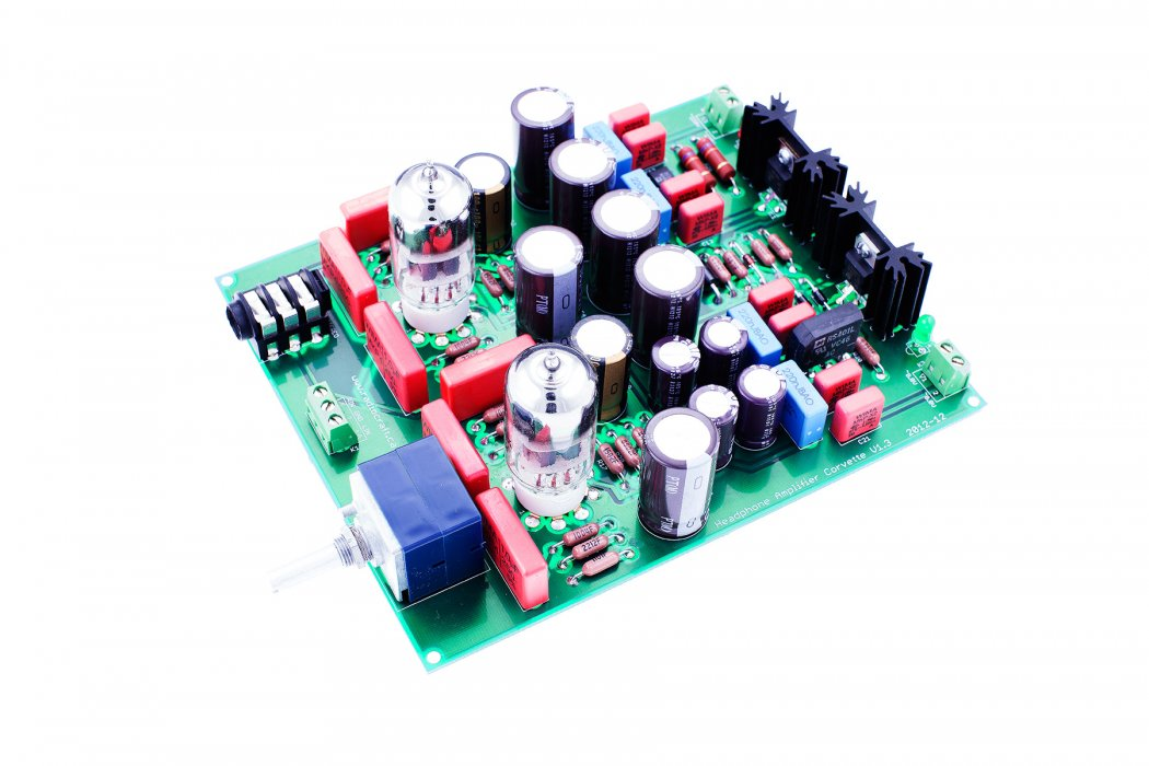 Headphone Amplifier Corvette® NO Transformers ASSEMBLED - Click Image to Close
