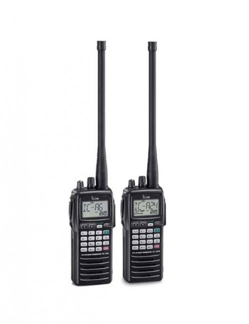 IC-A6 Aviation VHF Handheld Transceiver