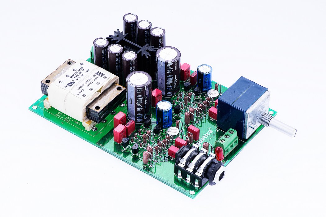 SOLID STATE TRANSISTOR HEADPHONE AMPLIFIER DIY KIT BRIG®