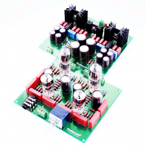 Headphone Amplifier Frigate® Trident® NO Transformers Kit