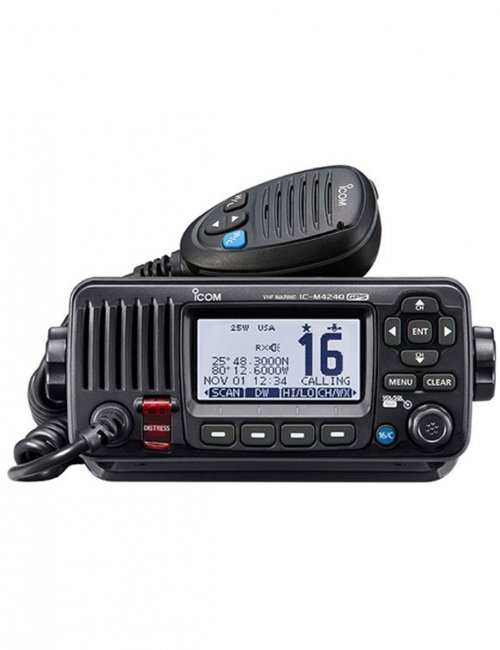 IC-M424G VHF Marine Transceiver with Built-in GPS