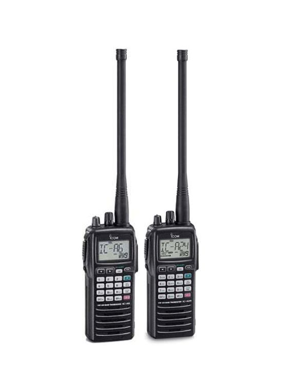 IC-A24 Aviation VHF Handheld Transceiver - Click Image to Close