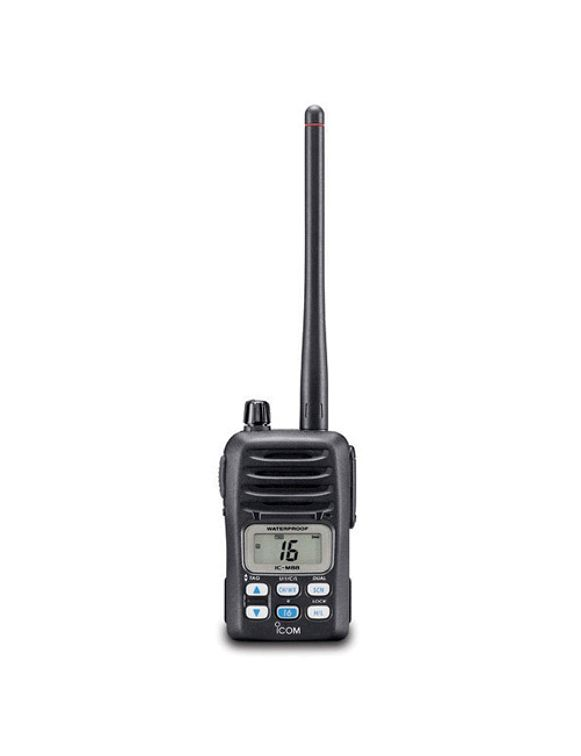 IC-M88 VHF Handheld Marine Radio - Click Image to Close